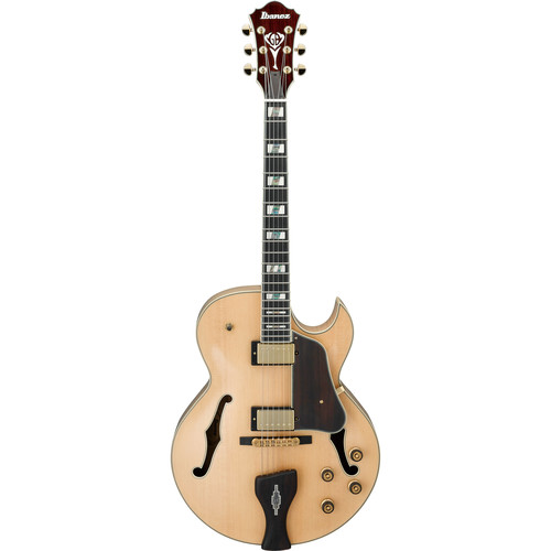 Ibanez LGB30 George Benson Signature Series Hollow-Body Electric Guitar (Natural)