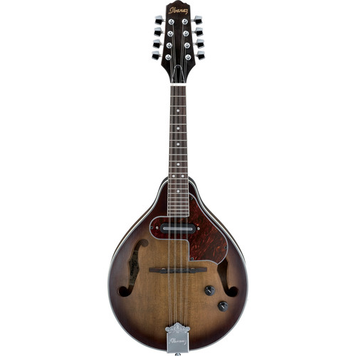Ibanez M510E A-Style Acoustic/Electric Mandolin (Open Pore Vintage Sunburst)