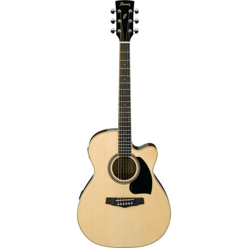 Ibanez PC15ECE Grand Concert Cutaway Acoustic-Electric Guitar(Natural High Gloss)