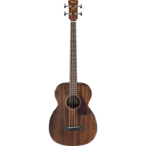 Ibanez PCBE12MH Acoustic/Electric Bass (Open Pore Natural)