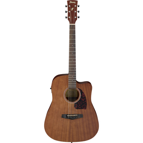 Ibanez PF12MHCE PF Performance Series Acoustic/Electric Guitar (Natural, Open Pore)