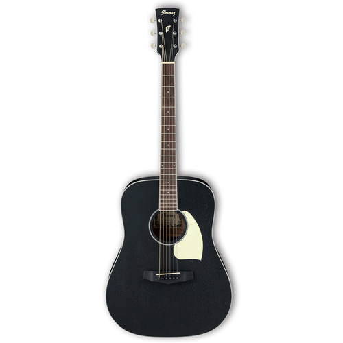 Ibanez PF14 PF Performance Series Acoustic Guitar (Weathered Black, Open Pore)