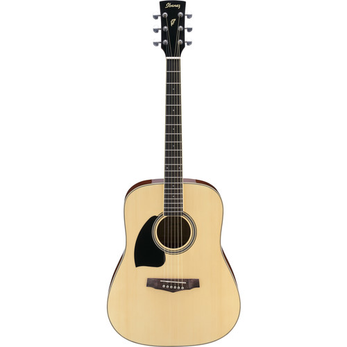 Ibanez PF15 PF Performance Series Acoustic Guitar (Natural, Left-Handed)