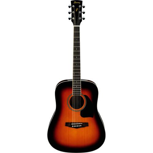 Ibanez PF15 PF Performance Series Acoustic Guitar (Vintage Sunburst)