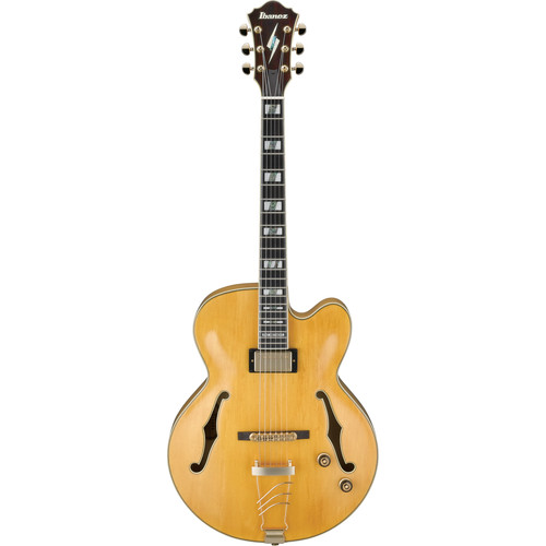 Ibanez PM2 Pat Metheny Signature Series Hollow-Body Electric Guitar (Antique Amber)