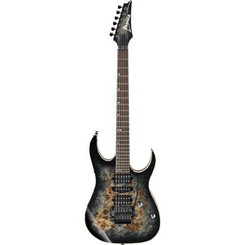 Ibanez RG1070PBZ RG Premium Series Electric Guitar (Charcoal Black Burst)