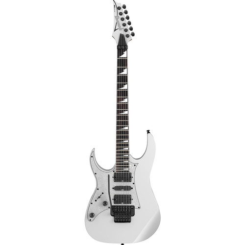 Ibanez RG450DXBL RG Series Electric Guitar (White, Left-Handed)