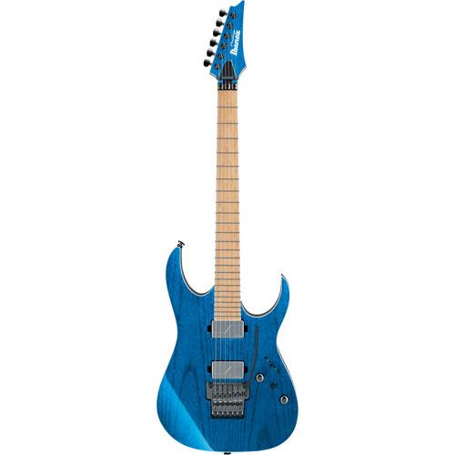 Ibanez Electric Guitar RG 5000 Series withCase/Fishman Fluence Humbuckers(Frozen Ocean)Hardshell Case
