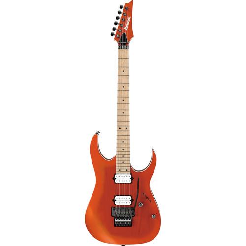 Ibanez Prestige RG Series RG652AHMS Electric Guitar with Case (Orange Metallic Burst Flat)