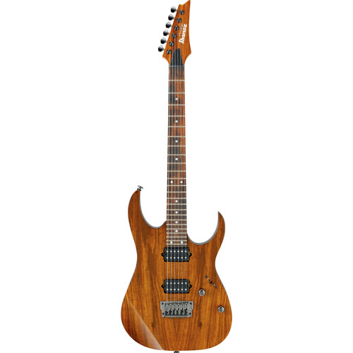 Ibanez Prestige RG Series RG652KFX Electric Guitar with Case (Koa Brown)