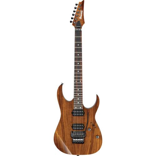 Ibanez RG652K Prestige Series Electric Guitar with Case (Koa Brown)