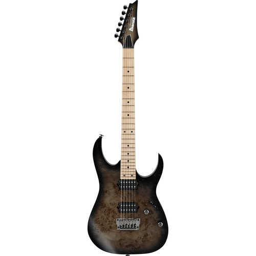 Ibanez RG652MPBFX RG Prestige Series Electric Guitar (Anvil Gray Burst Flat)