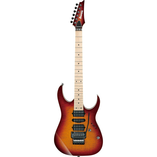 Ibanez RG657MSK RG Prestige Series Electric Guitar (Sunset Burst)