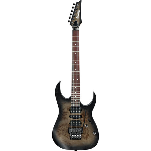 Ibanez RG657PB RG Prestige Series Electric Guitar (Anvil Gray Burst)