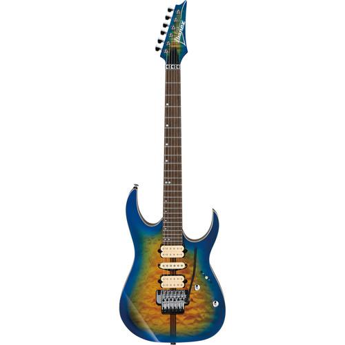 Ibanez RG6PFGMLTD RG Premium Series Electric Guitar (Geyser Blue Burst)