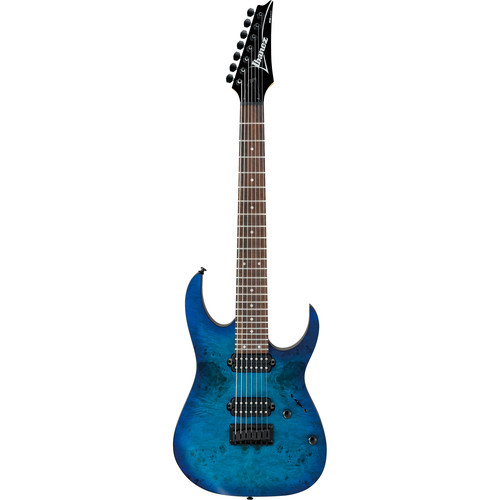 Ibanez RG7421PB RG Standard Series 7-String Electric Guitar (Sapphire Blue Flat)