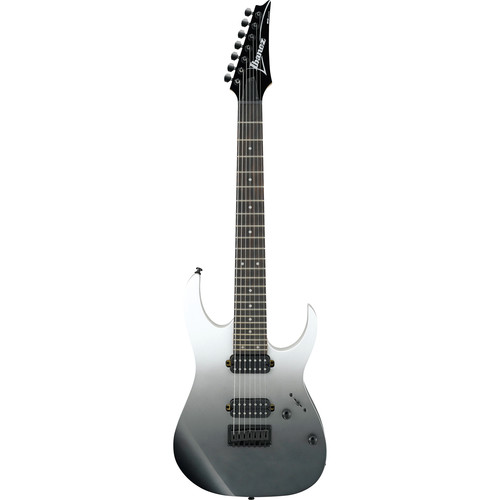 Ibanez RG Standard 7-String Solidbody Electric Guitar (Pearl Black Fade Metallic)