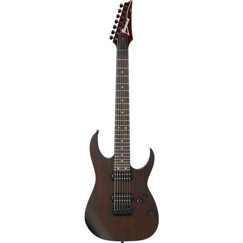 Ibanez RG7421 7-String Electric Guitar (Walnut Flat)
