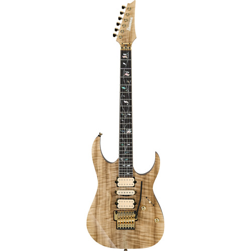Ibanez RG Prestige -String Electric Guitar with Case (Natural)