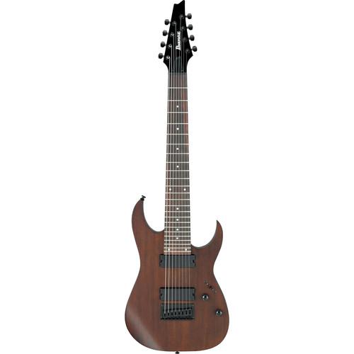 ibanez rg8 8 string electric guitar walnut flat rg8wnf b h. Black Bedroom Furniture Sets. Home Design Ideas