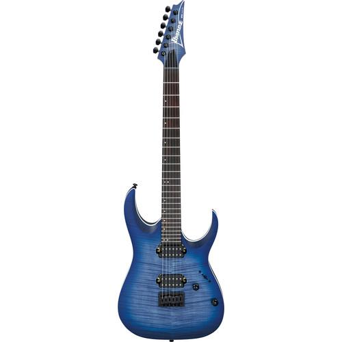 Ibanez RGA42FM RGA Standard Series Electric Guitar (Blue Lagoon Burst Flat)