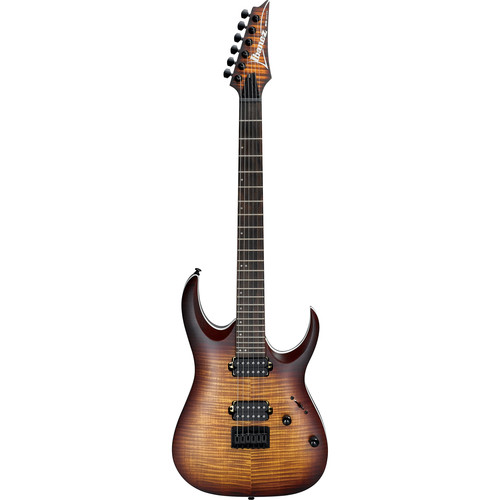 Ibanez RGA42FM RGA Standard Series Electric Guitar (Dragon Eye Burst Flat)