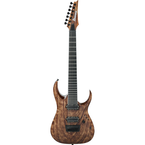 Ibanez RGAIX7U RGA Iron Label Series 7-String Electric Guitar (Antique Brown Stained)
