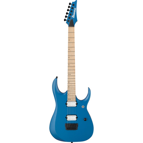 Ibanez RGDIR6M RGD Iron Label Series Electric Guitar (Laser Blue Matte)