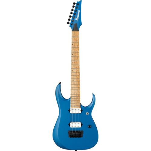 Ibanez RGDIR7M RGD Iron Label Series 7-String Electric Guitar (Laser Blue Matte)