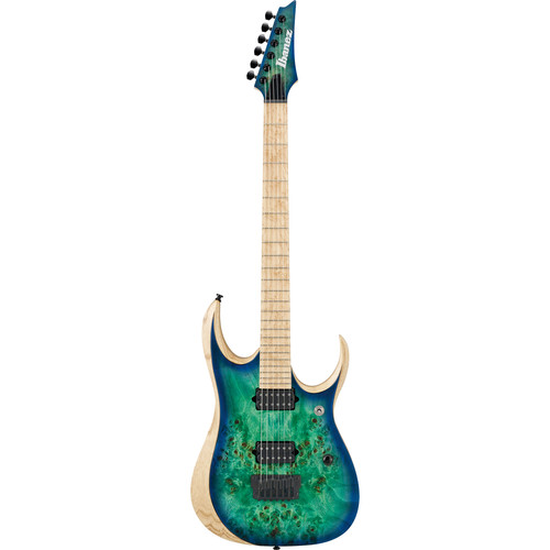 Ibanez RGDIX6MPB RGD Iron Label Series Electric Guitar (Surreal Blue Burst)