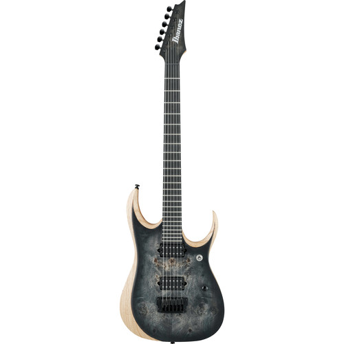 Ibanez RGDIX6PB RGD Iron Label Series Electric Guitar (Surreal Black Burst)