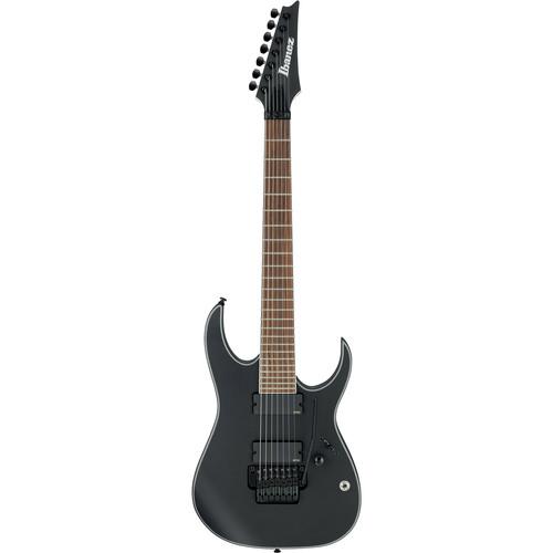 Ibanez RGIR37BE RG Iron Label Series 7-String Electric Guitar (Gibraltar Standard II-7 Bridge, Black Flat)