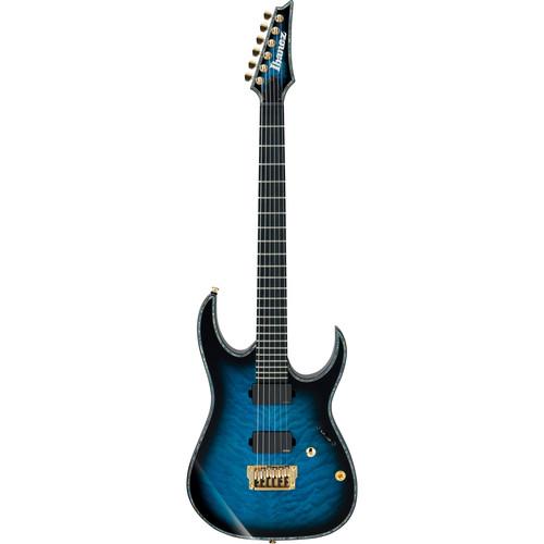 Ibanez Iron Label RG Series RGIX20FEQM Electric Guitar (Sapphire Blue Sunburst)
