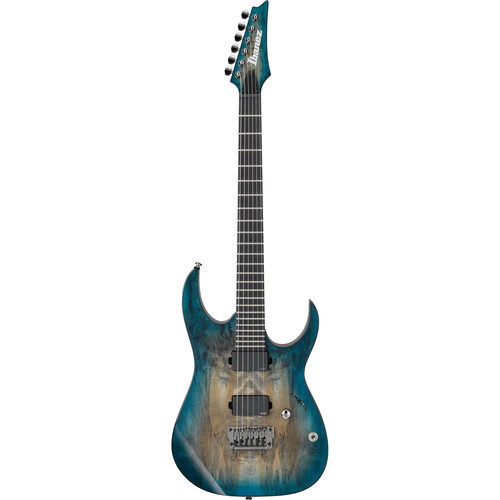 Ibanez RGIX20FESM RG Iron Label Series Electric Guitar (Foggy Stained Blue)