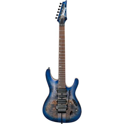 Ibanez S1070PBZ S Premium Series Electric Guitar (Cerulean Blue Burst)