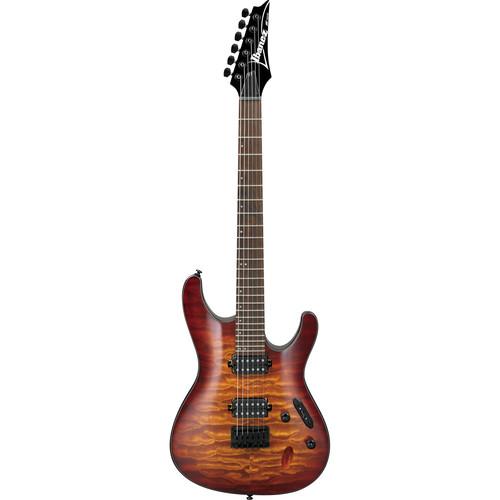 Ibanez S621QM S-Standard Series Electric Guitar (Dragon Eye Burst)