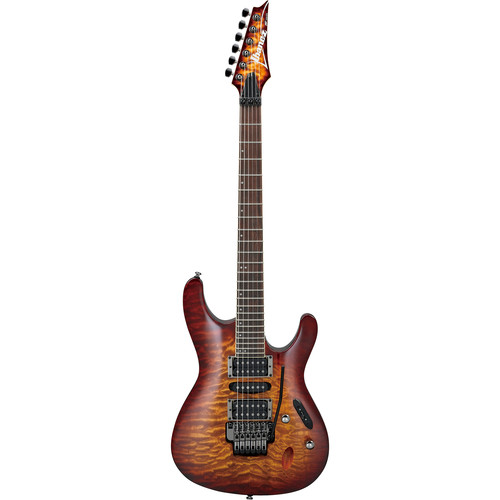 Ibanez S Series S670QM Electric Guitar (Dragon Eye Burst)