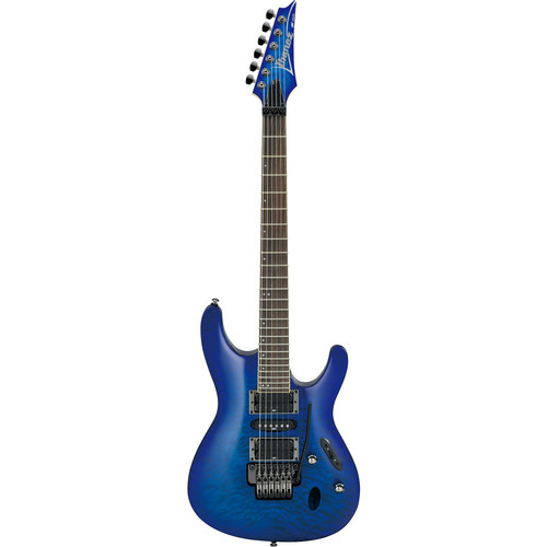 Ibanez S Series S670QM Electric Guitar (Sapphire Blue)