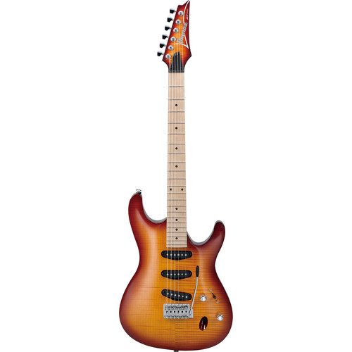 Ibanez SA130MFM SA Standard Series Electric Guitar (Brown Burst)