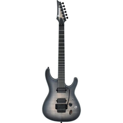 Ibanez SIX6DFM Iron Label S Series Electric Guitar (Dark Space Burst)
