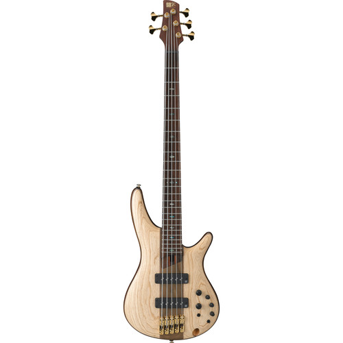 Ibanez SR Premium Series - SR1305E - 5-String Electric Bass (Natural Flat)