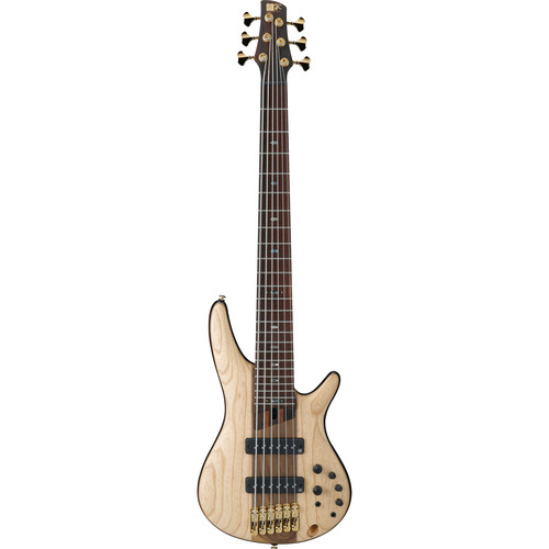 Ibanez SR Premium Series - SR1306E - 6-String Electric Bass (Natural Flat)