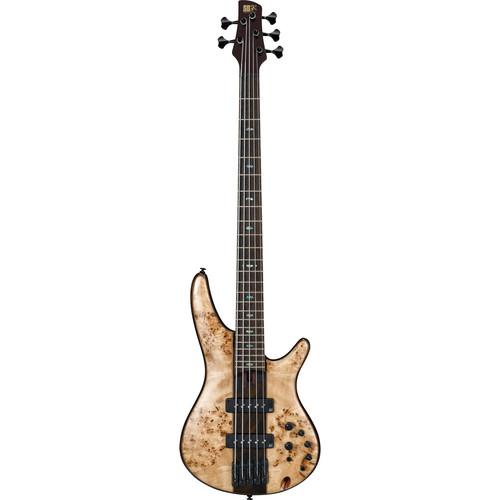 Ibanez SR1705BE SR Premium Series 5-String Electric Bass (Natural)