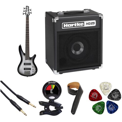 Ibanez SR305E SR Standard Series 5-String Electric Bass Starter Kit