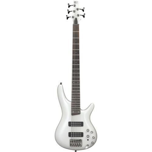 Ibanez SR305E SR Standard Series 5-String Electric Bass (Pearl White)