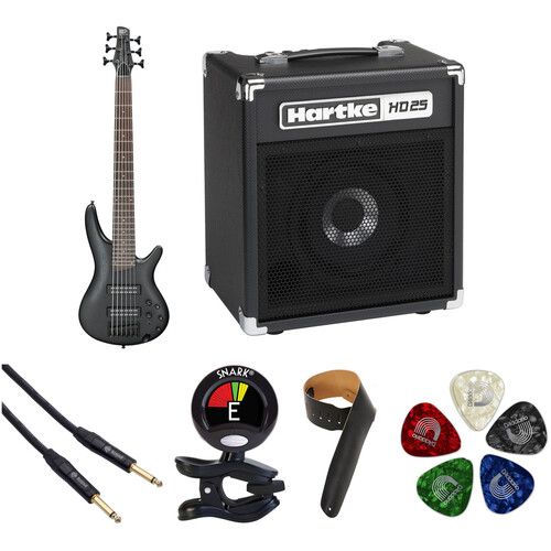 Ibanez SR306EB SR Standard Series 6-String Electric Bass Starter Kit
