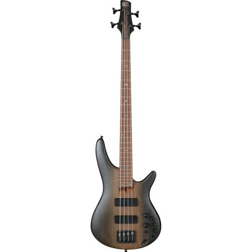 Ibanez SR Standard 4-String Electric Bass - 24 Frets - Surreal Black Dual Fade