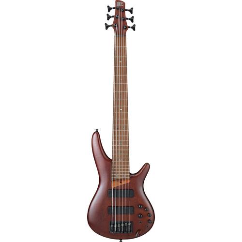 Ibanez SR Standard 6-String Electric Bass - 24 Frets - Brown Mahogany