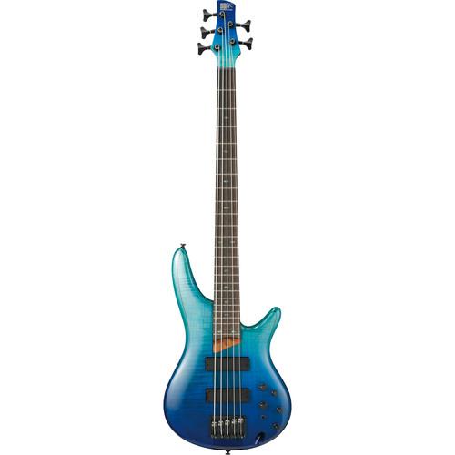 Ibanez SR875 SR Standard Series Electric Bass (Blue Reef Gradation)