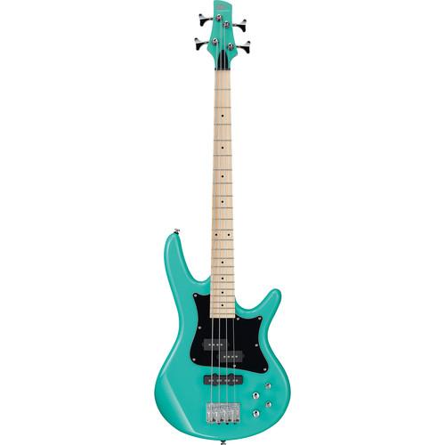 Ibanez SRMD200K SR Mezzo Series Electric Bass (Aqua Green)